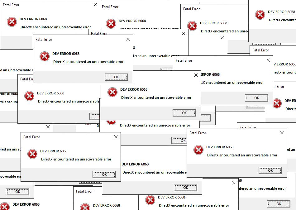 How to Fix Dev Error 6068, 6065 and 6165 in COD Modern Warfare? - Revista  Rai
